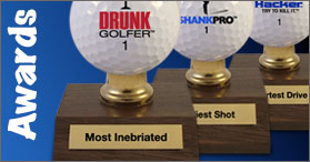 WannabeGolfer has unique golf gifts for all occasions. Use our funny golf balls to ridicule any golfers game. Check out our golf games for fun on and off ...