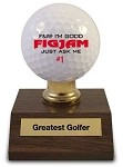 Greatest Golfer Award