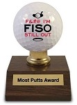 Most Putts Award