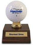 Shortest Drive Award