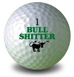 BullShitter Golf Ball