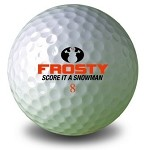 Frosty Golf Ball