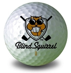 Blind Squrrel Golf Ball
