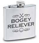 Bogey Reliever 6 oz. Flask