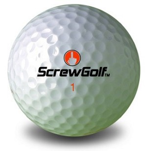ScrewGolf Golf Ball