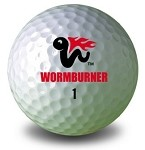 Wormburner Golf Ball